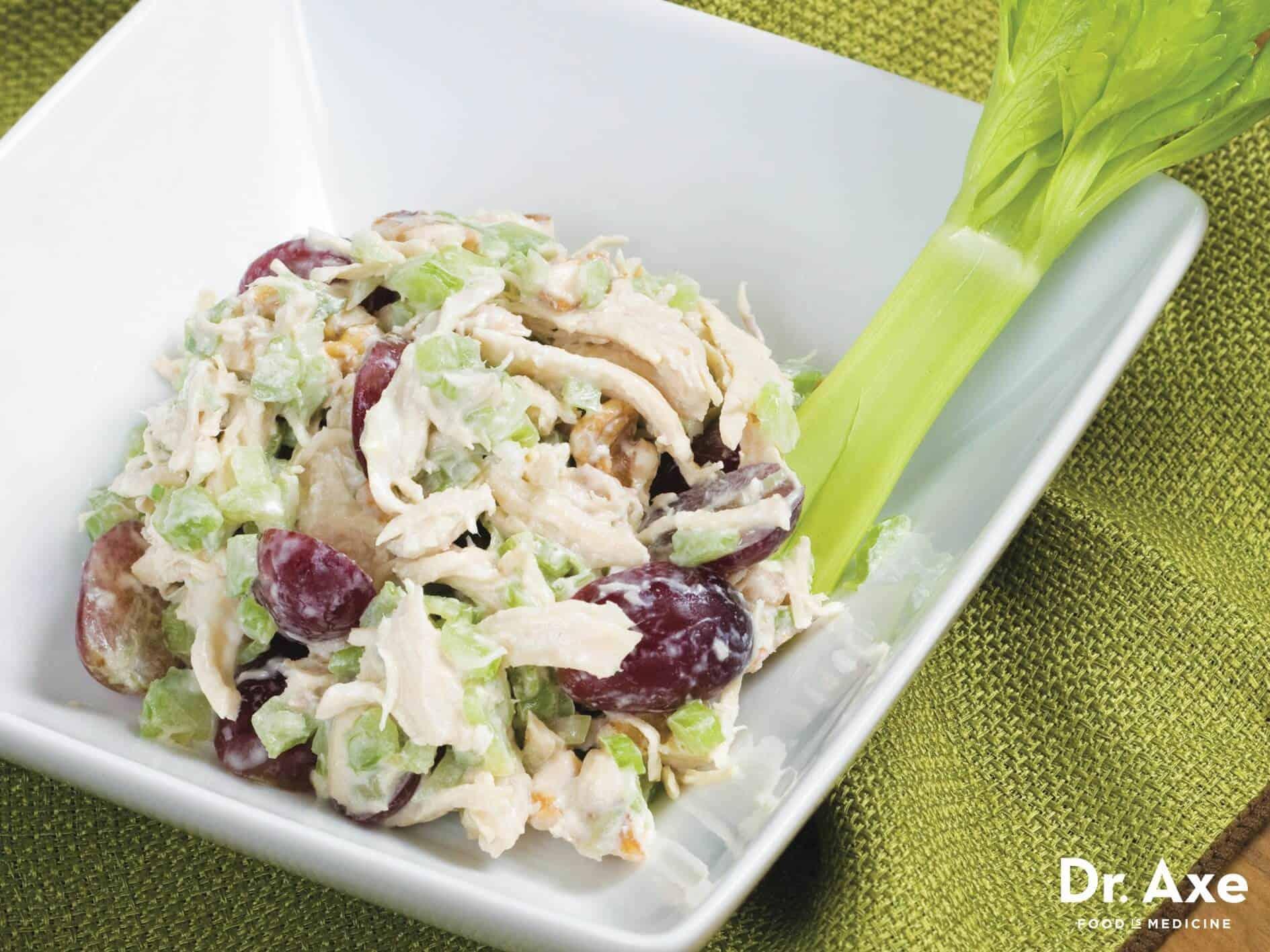 Chicken salad recipe - Dr. Axe