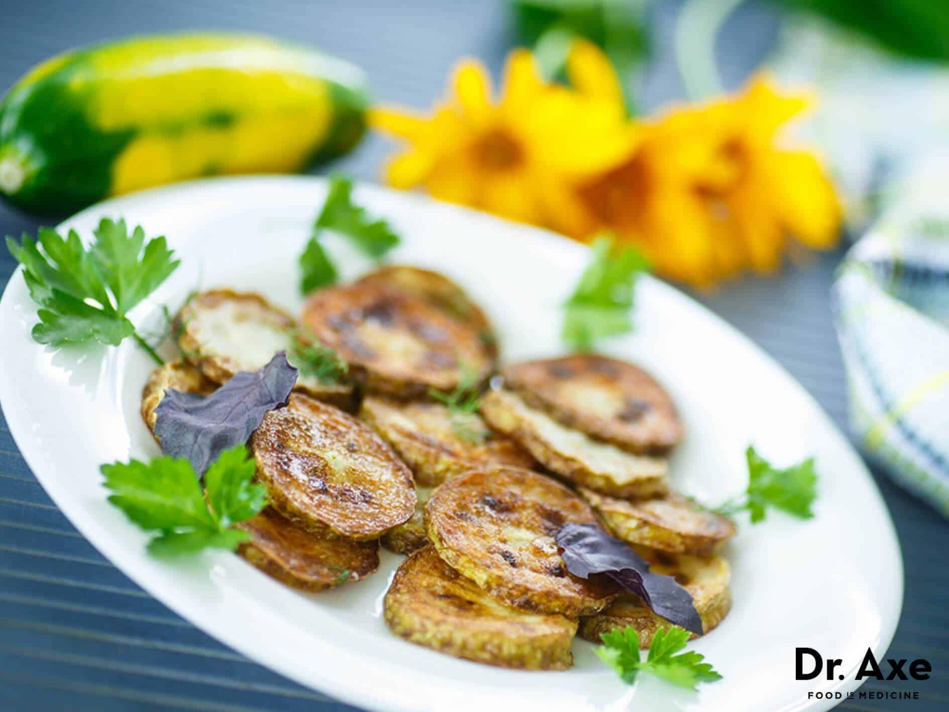 Zucchini Chips Recipe - DrAxe.com