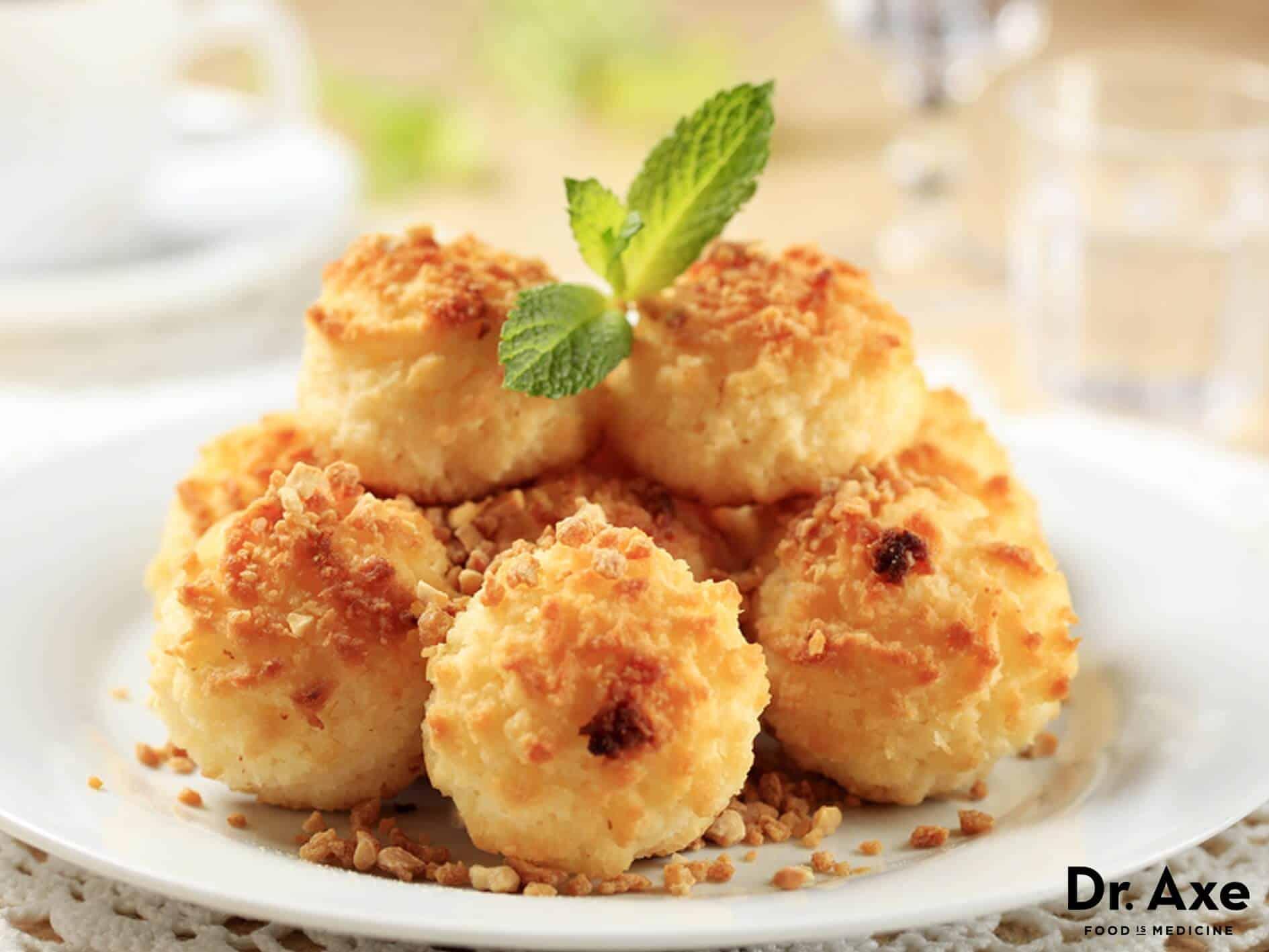Coconut Macaroons Recipe - DrAxe.com
