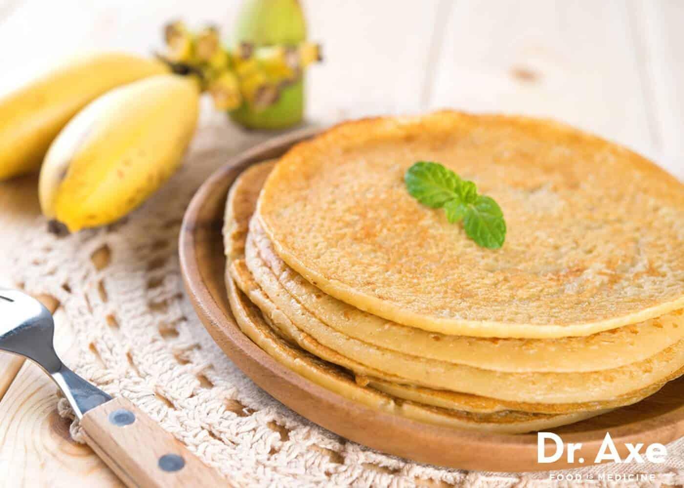 Coconut Banana Crepes Recipe - DrAxe.com