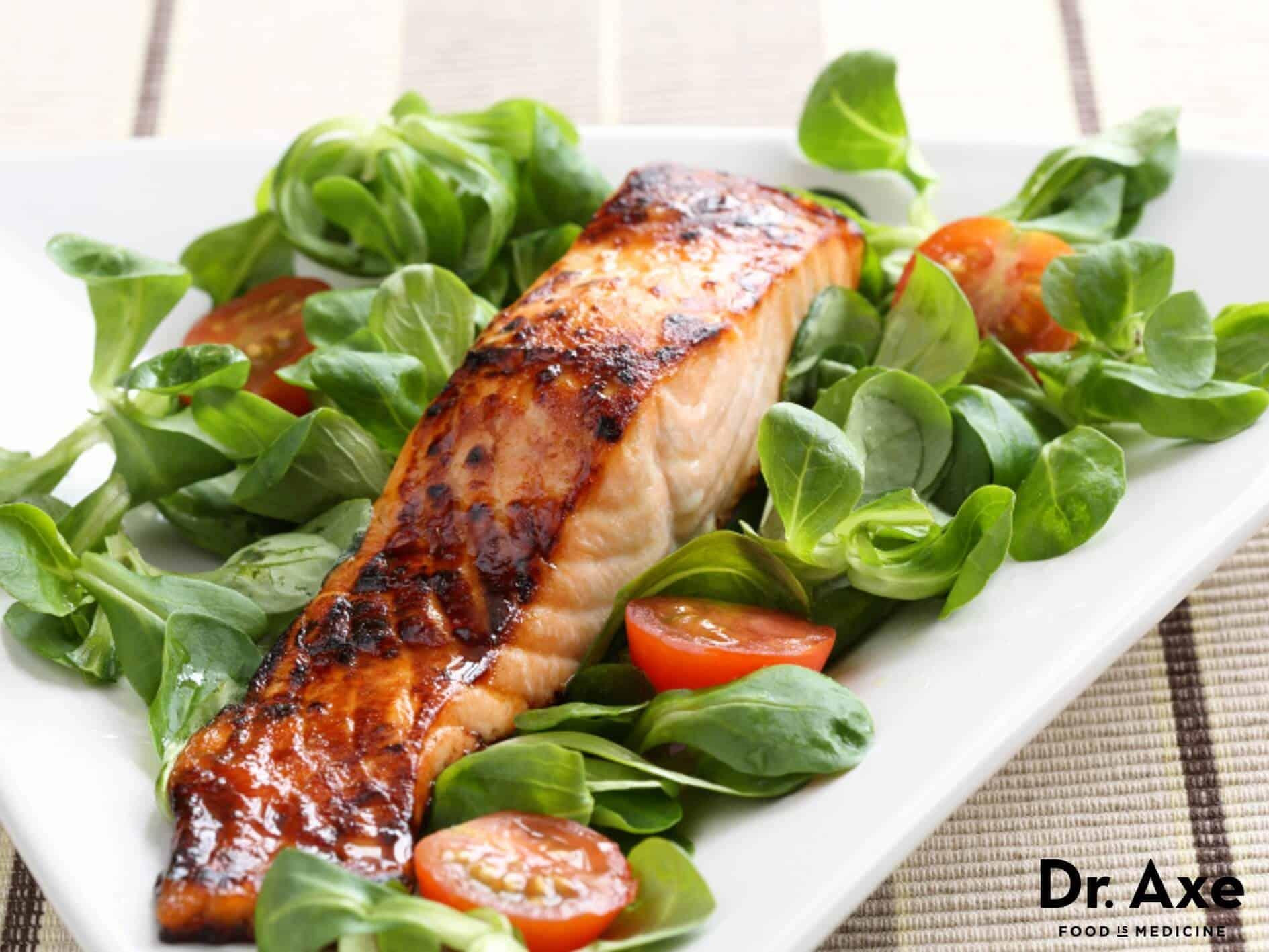 Grilled honey glazed salmon recipe - Dr. Axe