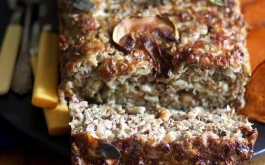 Classic Vegetarian Nut Loaf