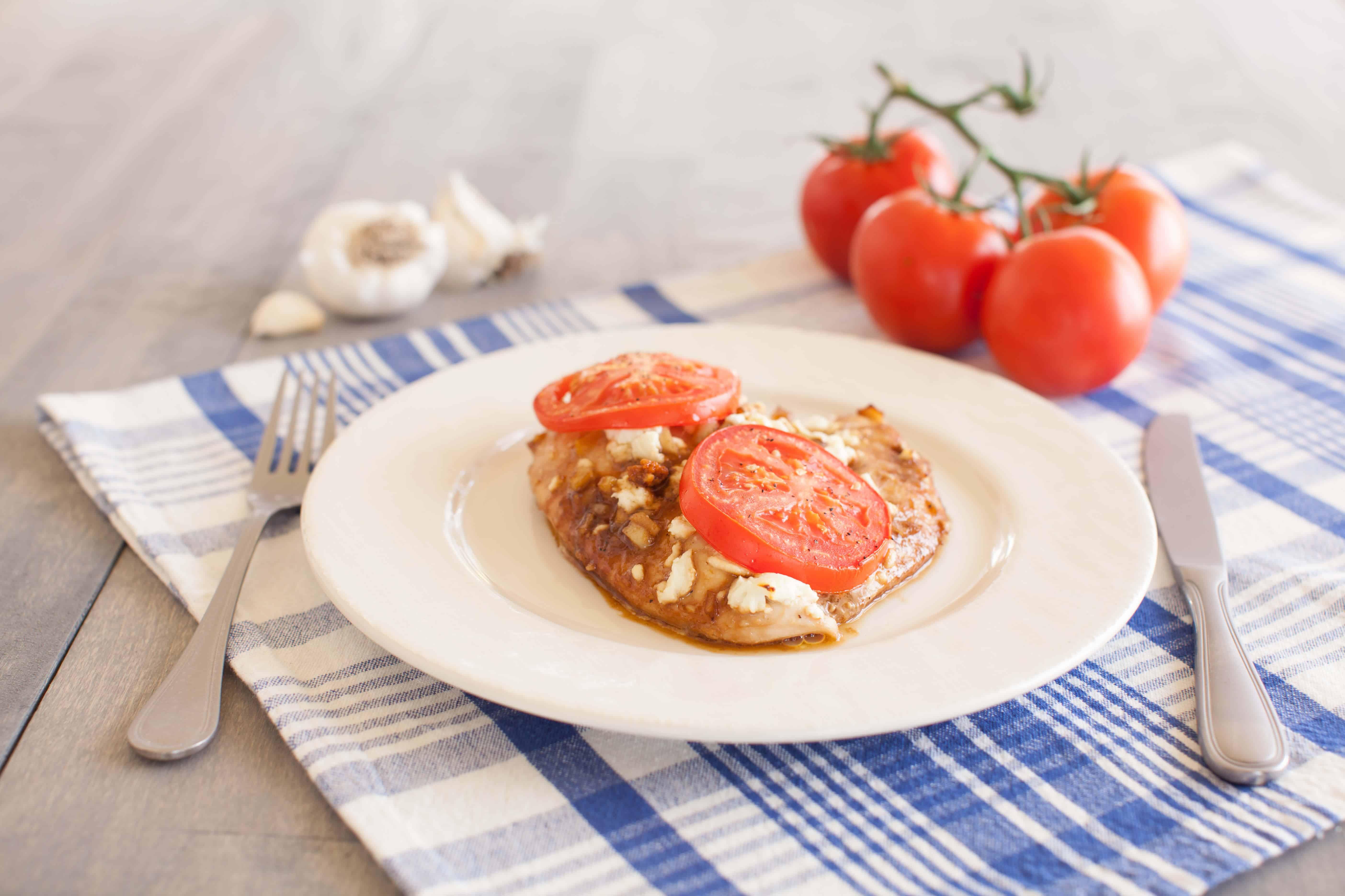 Mediterranean chicken recipe - Dr. Axe