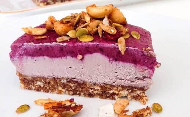 Acai Bowl Cheesecake