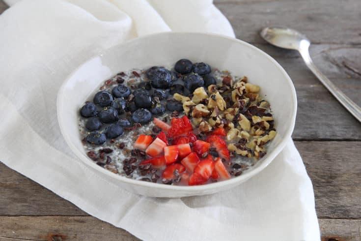 Gluten-free oatmeal recipe - Dr. Axe