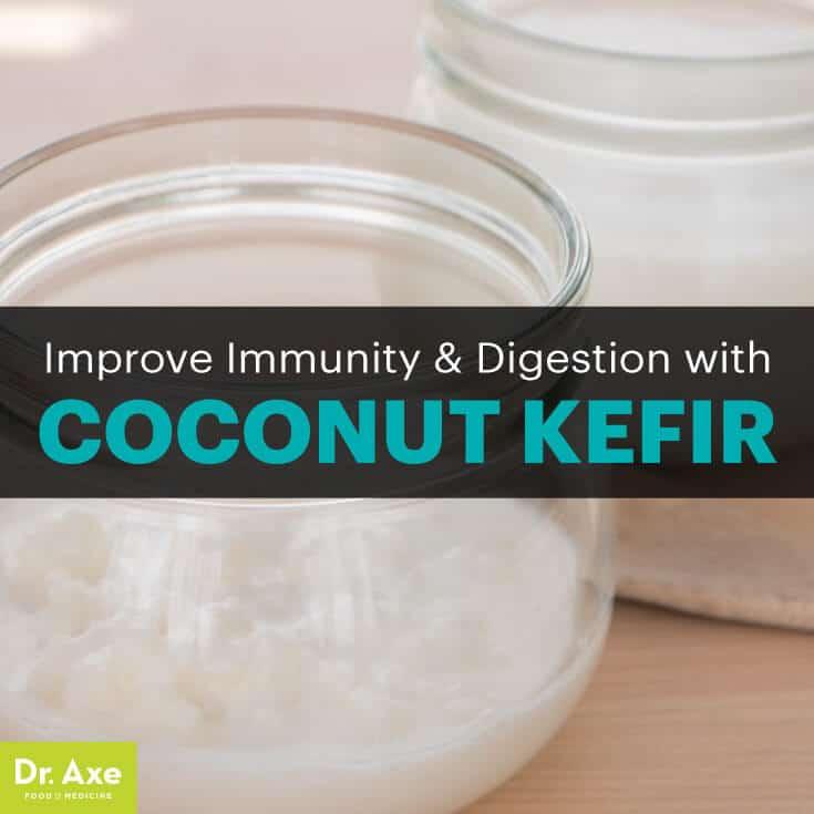 Coconut kefir - Dr. Axe