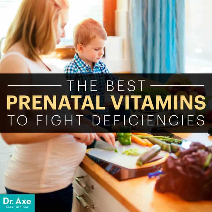 Prenatal vitamins - Dr. Axe
