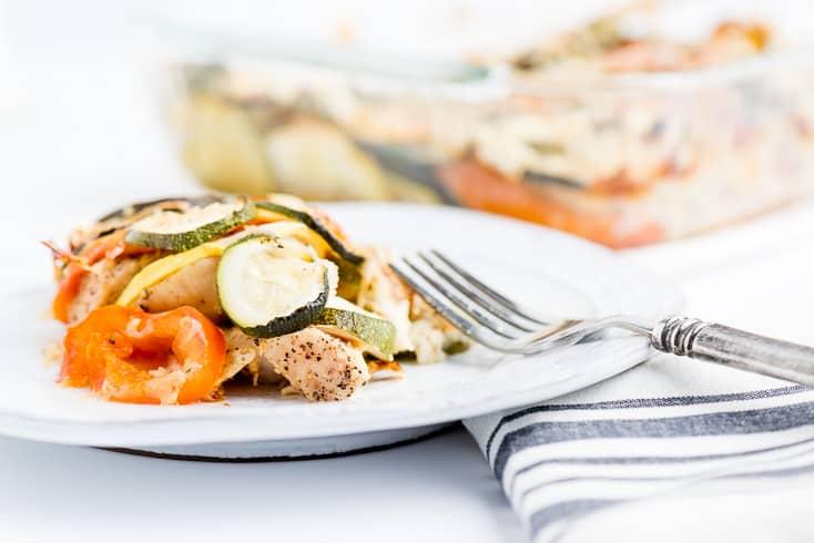 Zucchini casserole recipe - Dr. Axe