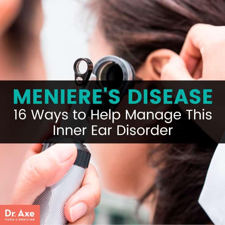 Meniere's disease - Dr. Axe