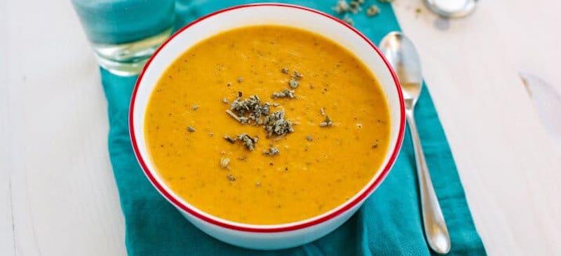 Butternut squash soup recipe - Dr. Axe