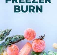 Freezer burn - Dr. Axe